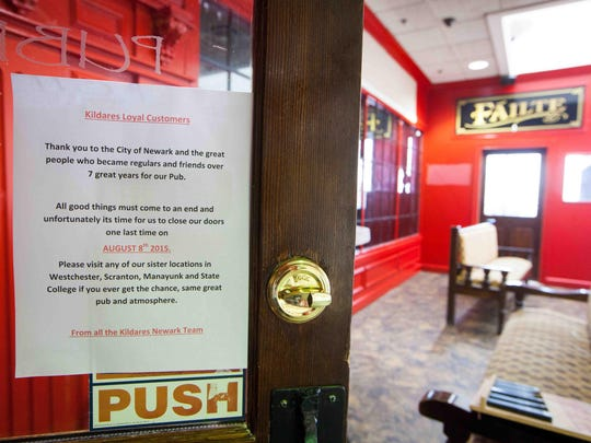 Kildare's Irish Pub on the second floor of the Main Street Galleria quietly closed its doors this weekend.