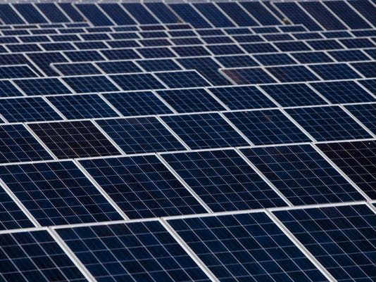 Solar panels March 2015 Moises Castillo AP