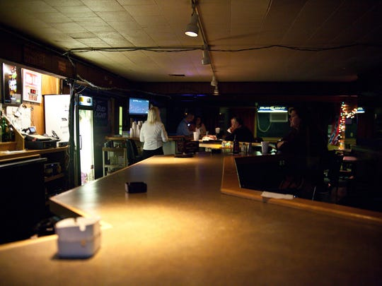 Somewhere's Else Lounge can be a good spot to relax in on a rainy night. Belly up to the bar for funny stories from the bartender.