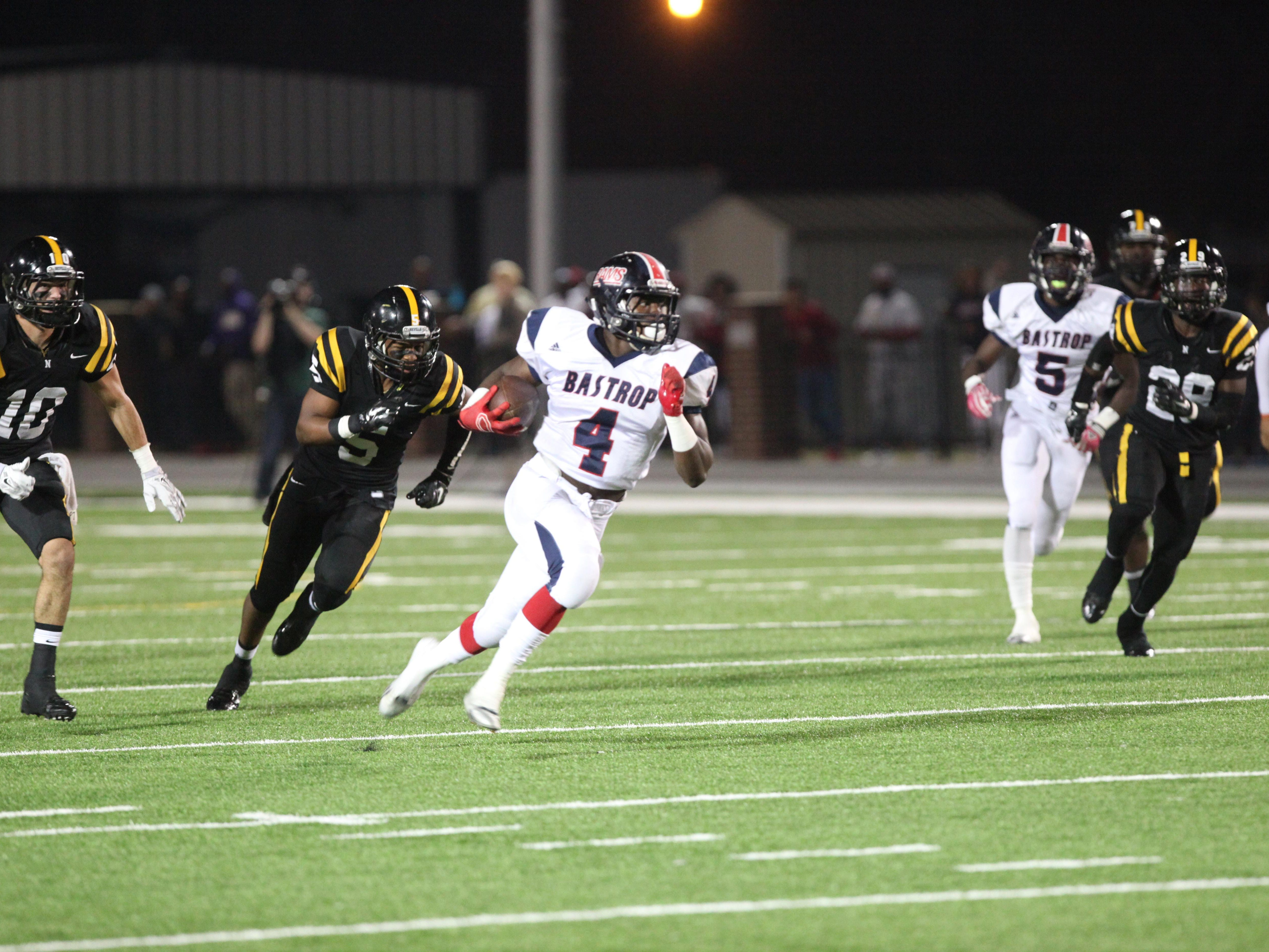 Bastrop quarterback Jerry Powell won the Cooper Buick GMC High School Hero voting for Week 12 with more than 65 percent of the votes.