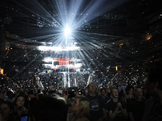 NewSong performed as part of The Winter Jam 2013 Tour Spectacular at Philips Arena on Sunday, Feb. 10, 2013, in Atlanta.
