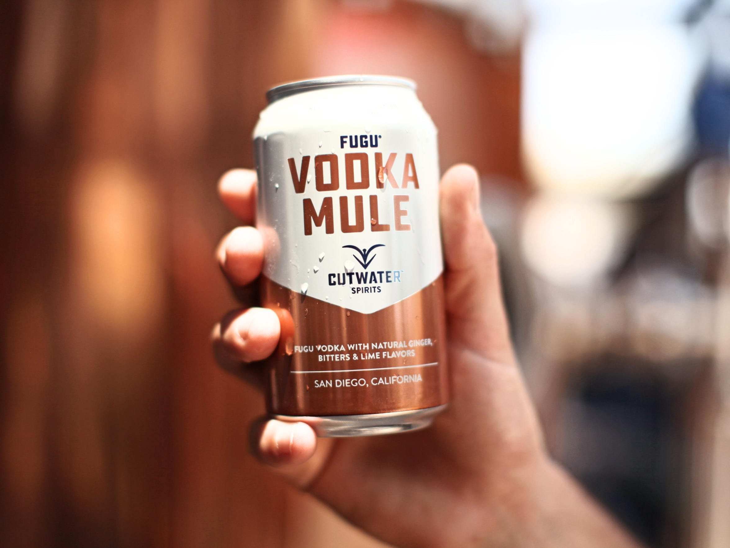 The Vodka Mule is one of 10 canned cocktails made by Cutwater Spirits, a San Diego craft distillery starring at Canfest on Aug. 26 at Grand Sierra Resort and Casino.