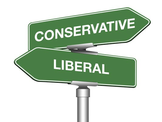 Conservative and Liberal
