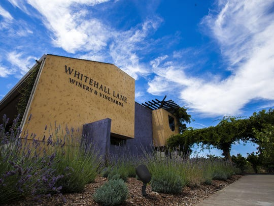 In this image from 2015, the architecture of Whitehall Lane Vineyards & Winery cuts a distinctive figure in the Napa Valley's Rutherford appellation. The Leonardini family has brought the winery to prominence over more than 25 years of ownership.