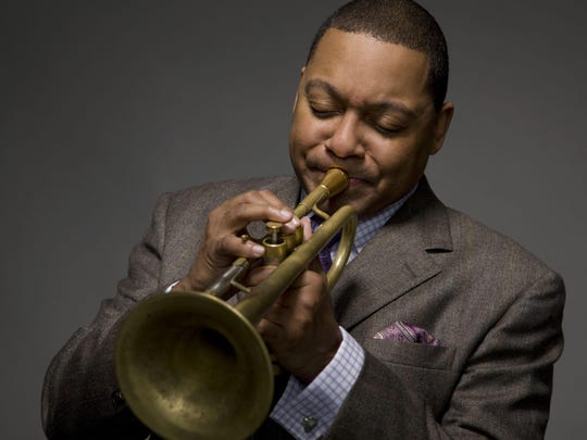Trumpeter Wynton Marsalis will play with student musicians at Cornell's Bailey Hall on Wednesday, March 28.