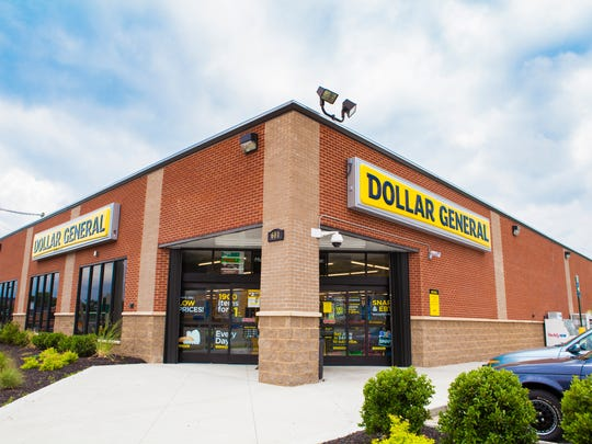 A model Dollar General store.