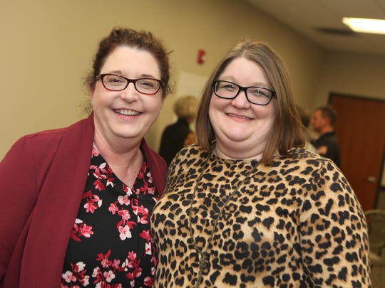 Dr. Trish Holliday and Springfield City Clerk Kimberly Brickles pose for a photo together during the planning session.