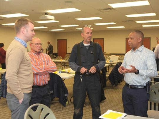 Springfield city leaders met at Stokes Brown Public Library on Jan. 30 for a strategic planning session focusing on the future and growth.