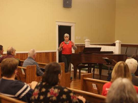 The South Cheatham Choral Society, under the direction of Mary Combs, began its rehearsal schedule in preparation for an upcoming Spring performance.