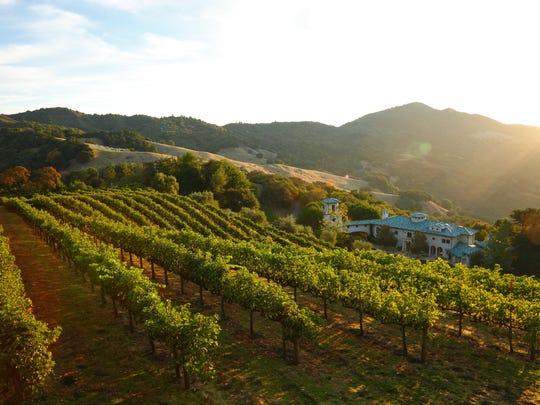 Robin Williams' Napa, California, winery, previously