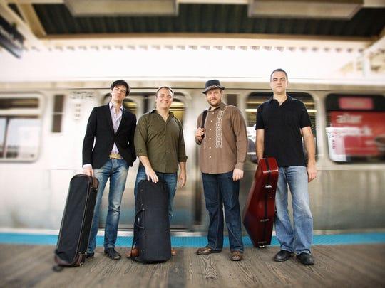 Spektral Quartet plays this weekend in Burlington, Montpelier and Warren.