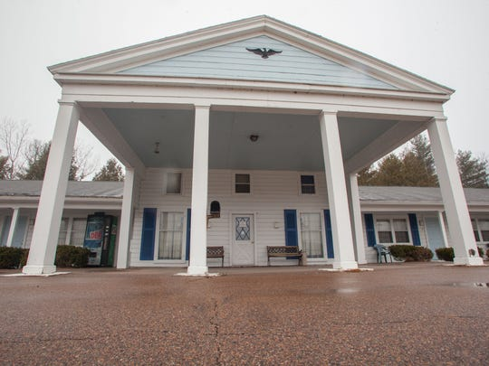 The Yankee Doodle Motel in Shelburne sits empty on Thursday.