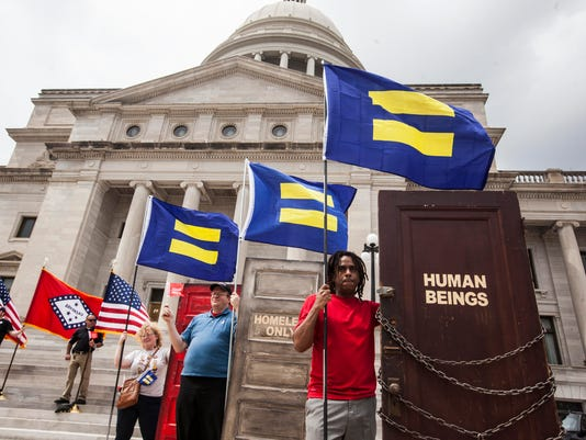 Arkansas Reacts To Gov. Asa Hutchinson's Addresses Of Controversial Religious Freedom Bill