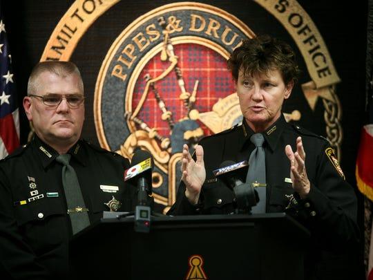 Hamilton County Sheriff Chief Deputy Mark Schoonover