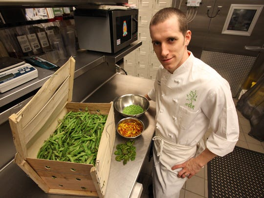 "Chef James Rigato of the Root in White Lake Township is one of three metro Detroit chefs nominated for Food & Wine's 2015 ""The People's Best New Chef"" award."