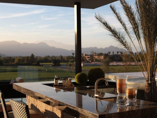 This view of the ultra-private and exclusive Madison Club from a home on the course is about the only look people might get of the Tom Fazio golf course. (Richard Lui The Desert Sun)