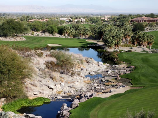 The 17th hole at The Quarry at La Quinta. (Marilyn Chung, The Desert Sun)
