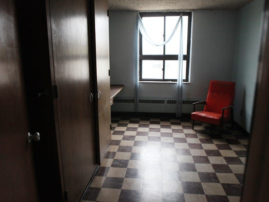 One of the rooms to be renovated at Bishop Kearney, where it was announced that a new girls hockey in residence program named Selects Academy where girls from around the world will live on third floor of school after it's renovated.