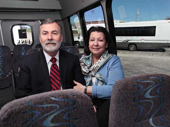 Howard and Jan Fisk started their business, J. Howard Fisk Limousines, with one vehicle in the 1970s. Today they have around 75 in their fleet.