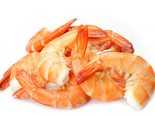 Watch out for the run on the shrimp.