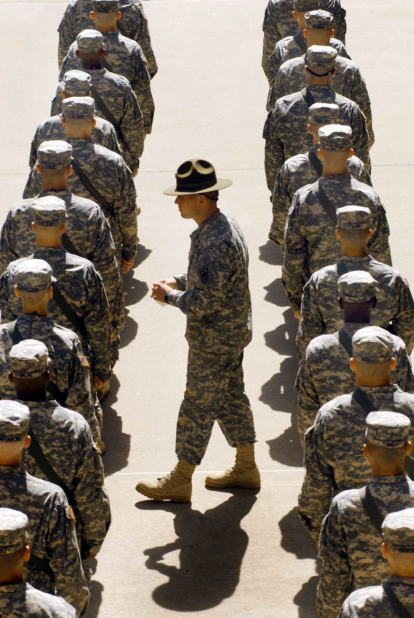Find a soldier in the army