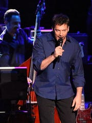 Harry Connick Jr. performs to a sold out audience at the Plaza Theatre Saturday night.