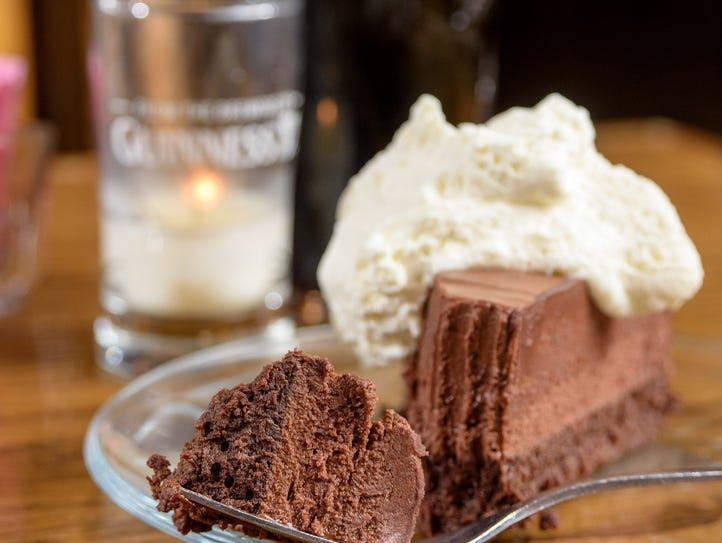 Chocolate Guinness cake at The Irish Rover at 2319