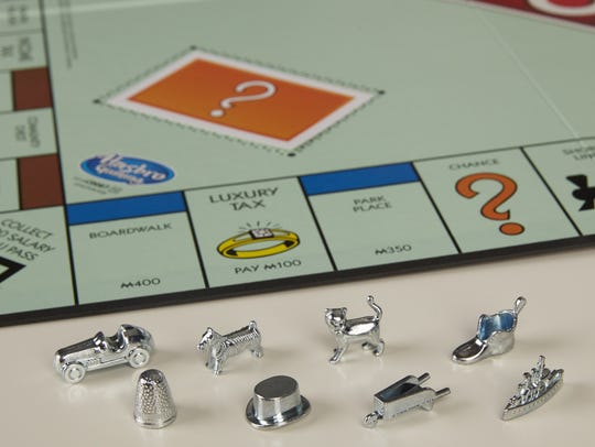 The current Monopoly tokens
