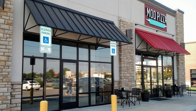 A Jersey Mike's Subs will occupy this empty storefront  along Middlebelt south of I-96.