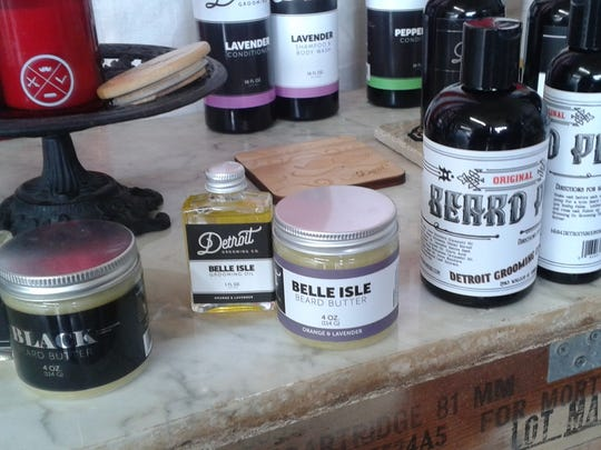 A few of Detroit Grooming Co. products