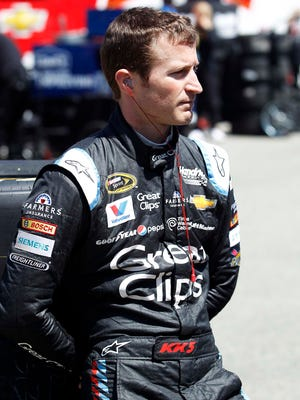Kasey Kahne is sixth heading to Talladega Superspeedway this weekend.