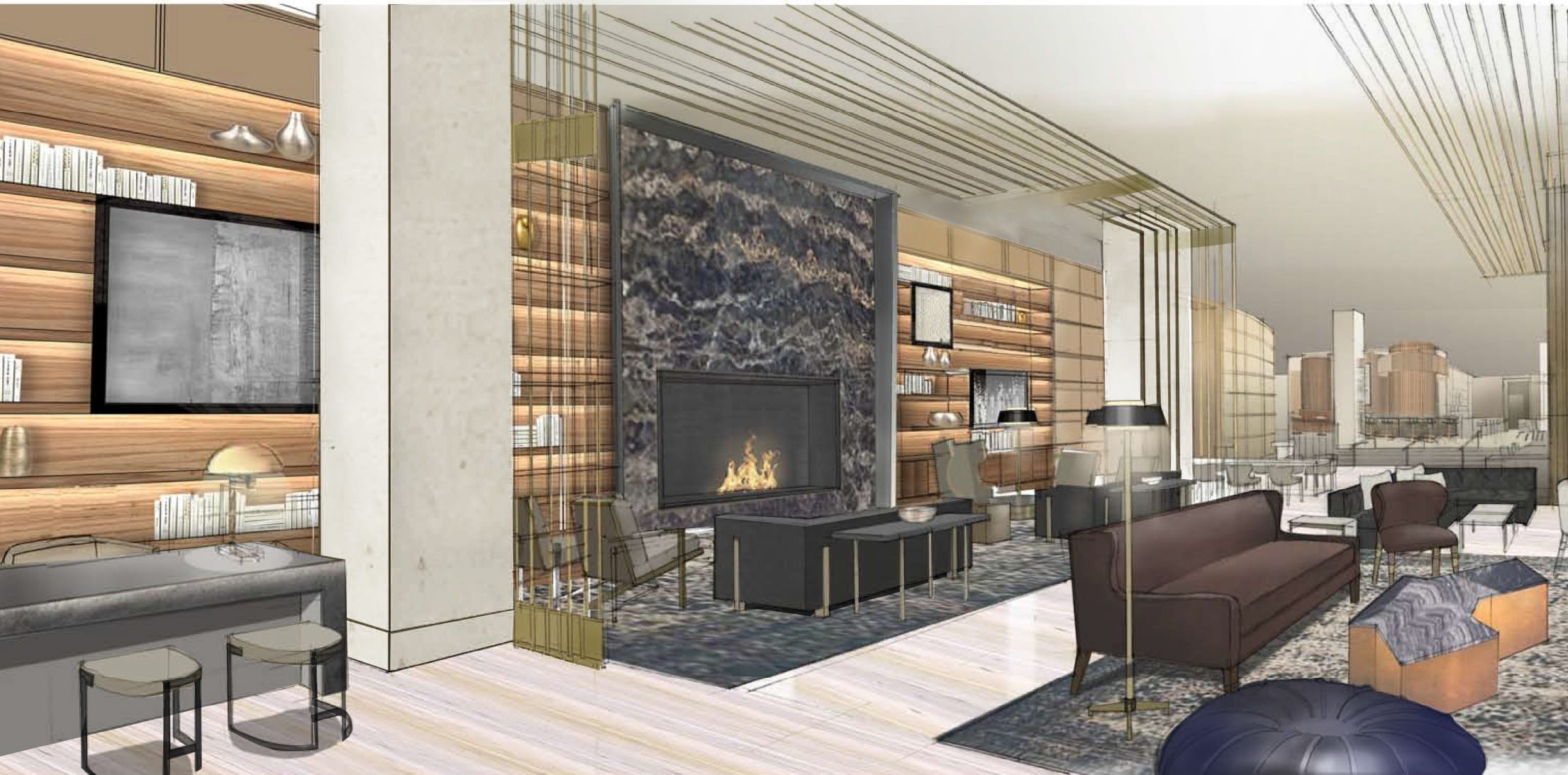 Inside View: Interior Design Unveiled For New JW Marriott Nashville Hotel