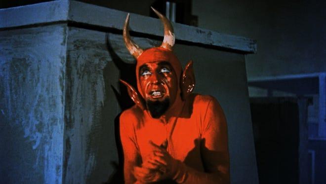 "Jose Luis Aguirre plays Pitch the demon in schlocky holiday movie ""Santa Claus"" (1959)."