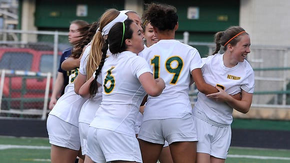 Reynolds (26-1-0) won the Mountain Athletic Conference 3-A championship in girls soccer this season.
