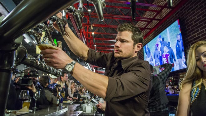 "Nick Lachey from A&E's ""Lachey's: Raising the Bar."""