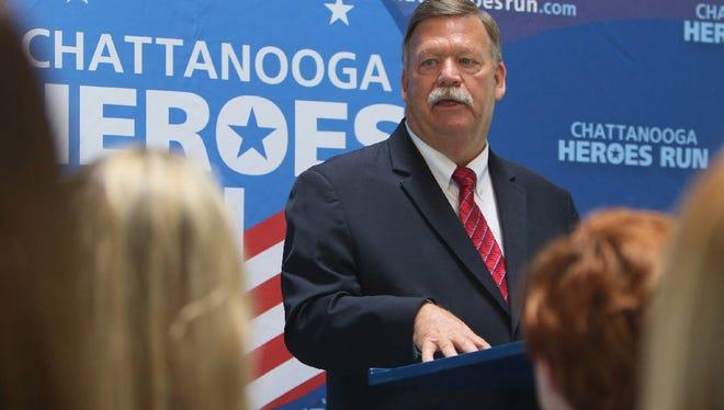 Hamilton County Mayor Jim Coppinger.
