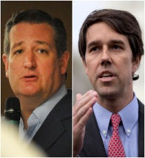 Can Beto ORourkes seatofthepants DIY breaktherules campaign succeed against US Senator Ted Cruz