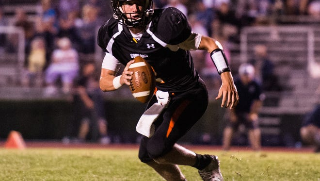 Grant Haus and Palmyra rallied from an 18-0 halftime deficit to beat West Perry 28-24 on Friday night.