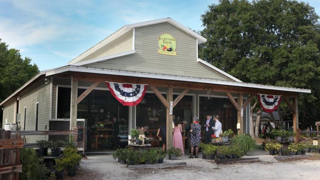 Just beyond the front porch lies a country store, along with a counter service eatery.