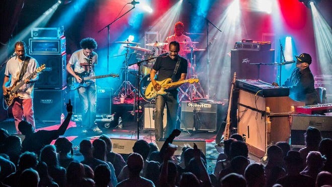 The New Orleans band Dumpstaphunk will perform this weekend at the Joshua Tree Music Festival.