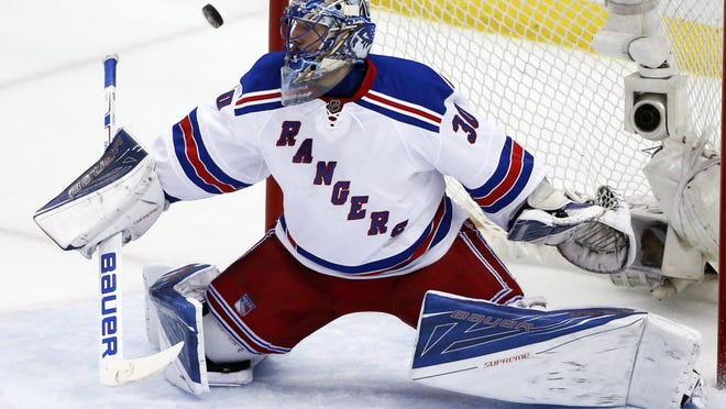 After a scary eye injury, Rangers goalie Henrik Lundqvist is thankful he's able to pursue his dream of winning a Stanley Cup.