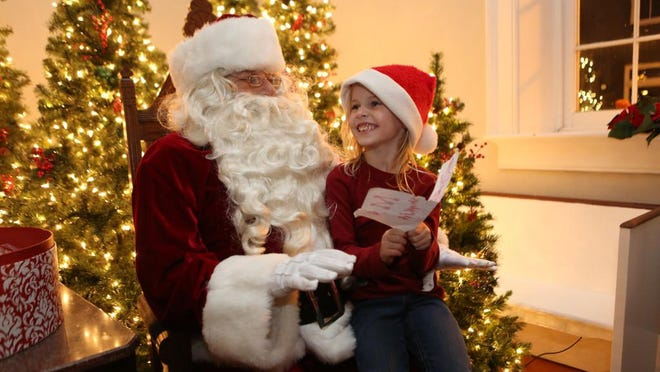 Have breakfast with Santa or just tell him what you want at one of these local holiday events.