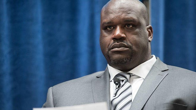 Former NBA star Shaquille O'Neal apparently was a fan of the circus.