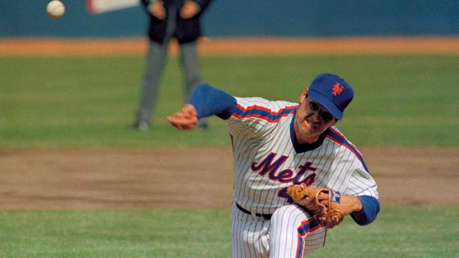 From April 5, 1983, New York Mets pitcher Tom Seaver throws against the Philadelphia Phillies during an Opening Day baseball game at Shea Stadium in New York. To baseball fans, opening day is an annual rite of springthat evokes great anticipation and warm memories. This year's season was scheduled to begin Thursday, March 26, 2020, but there will be no games for a while because of the coronavirus outbreak.