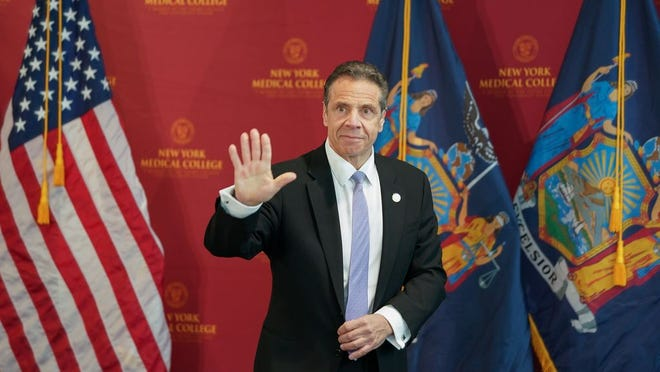 Governor Andrew M. Cuomo delivers briefing on Coronavirus pandemic.