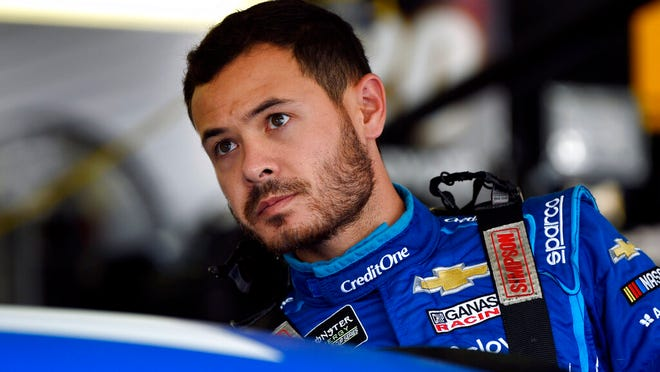 From July 27, 2019, Kyle Larson climbs into his car for a practice session for the NASCAR Cup Series auto race in Long Pond, Pa. Kyle Larson was fired Tuesday, April 14, 2020, by Chip Ganassi Racing, a day after nearly every one of his sponsors dropped the star driver for using a racial slur during a live stream of a virtual race. Larson, in his seventh Cup season with Ganassi and considered the top free agent in NASCAR mere weeks ago, is now stunningly out of a job in what could ultimately be an eight-figure blunder by the star.