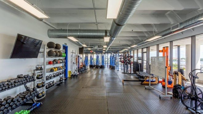 Ultima's fourth floor space at 625 N. Flagler Drive provides members views of the Intracoastal Waterway while they work out.