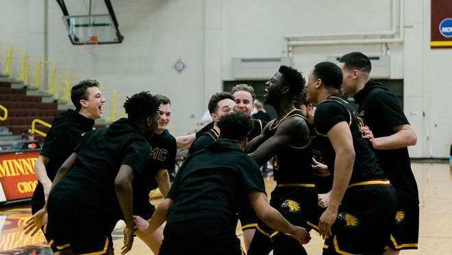 Minnesota Crookston men's basketball earned the National Association of Basketball Coaches Team Academic Excellence award.