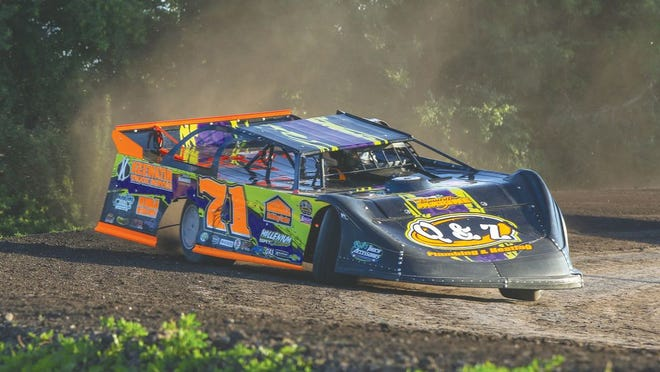 Dustin Strand of East Grand Forks took his first checkered flag since 2012 at the Norman County Raceway.