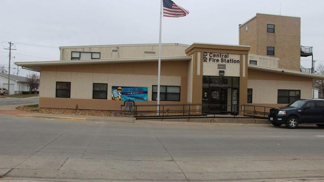 The Kirksville Fire station.